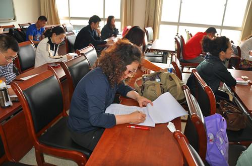 中国社会科学院研究生在职研究生上课图景